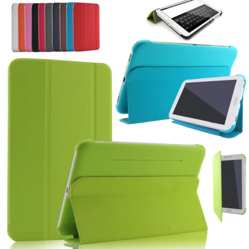 All Samsung Galaxy Tab Slim Smart Case Cover For Tab E 9.6  S2 9.7  A / 4 10.1""