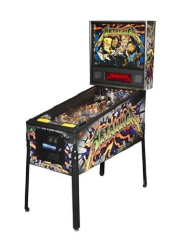 Top Holiday Gifts Stern Metallica Pro Pinball Machine - LED Version
