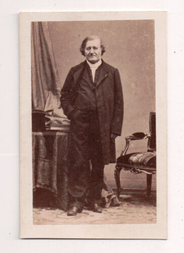 Vintage CDV French Politician , Aristocrat Disderi Photo Paris France