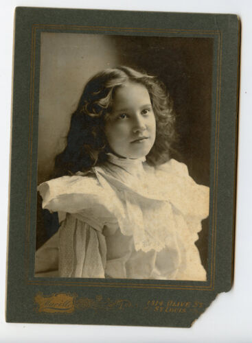 Vintage Cabinet Card Ella Southwell Child Actress