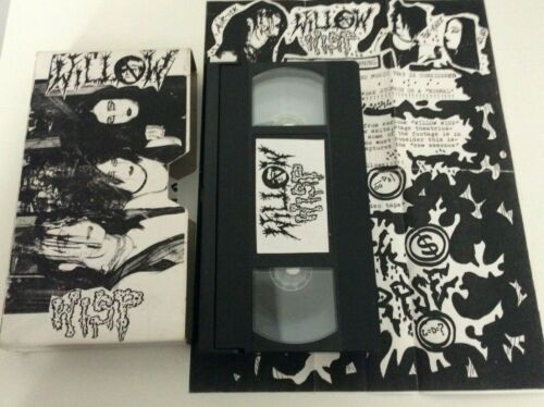 WILLOW WISP - Live 1993 VHS Video EX+ Glam Rock Goth USA NTSC Official Release