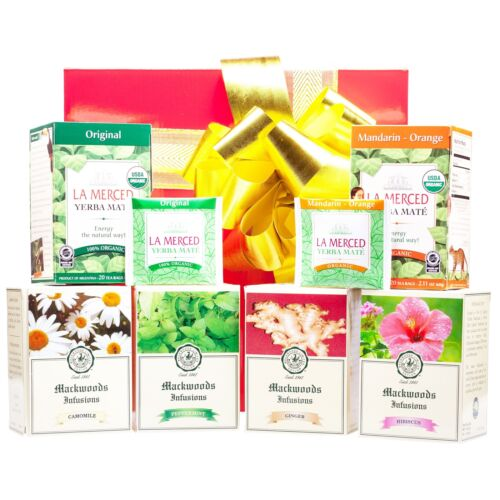NEW Organic Tea Hamper Gift Packages