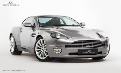 Aston Martin Vanquish // Tungsten Silver // 2003 <br/> ***Exemplary Service Records with Full AMSH***