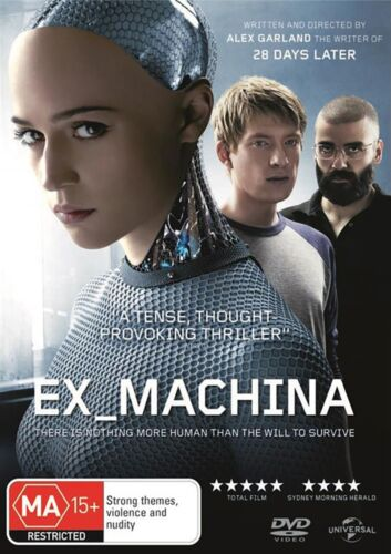 Ex Machina DVD Region 4 NEW