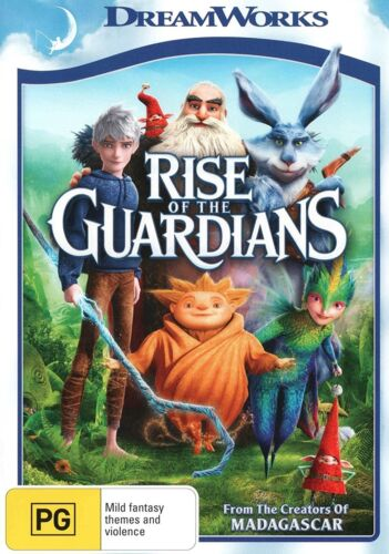 Rise of the Guardians DVD Region 4 NEW