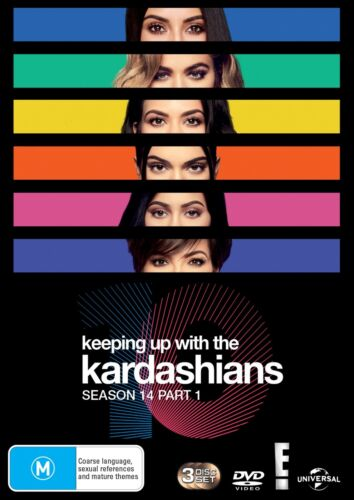 Keeping Up With the Kardashians Season 14 Part 1 Box Set DVD Region 4 NEW