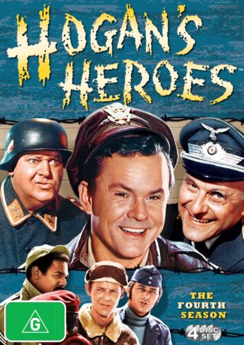 Hogans Heroes Season 4 DVD Region 4 NEW