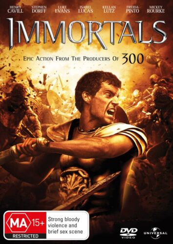 Immortals DVD Region 4 NEW