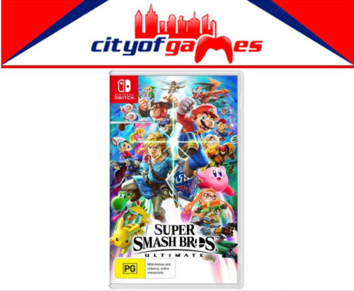 Super Smash Bros. Ultimate  Nintendo Switch SWI Brand New In Stock <br/> *Pay only AU $75.95*Use Code PERCENT5 During Check out*