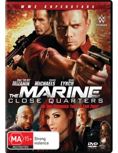 The Marine 6 Close Quarters DVD Region 4 NEW