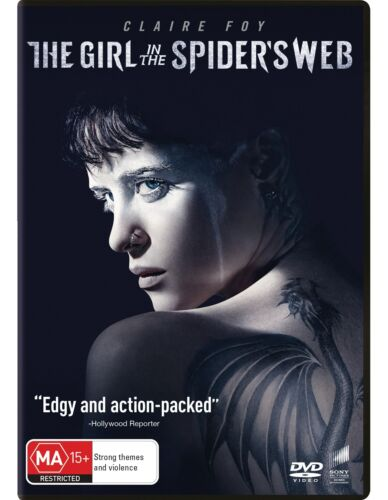 The Girl in the Spiders Web DVD Region 4 NEW