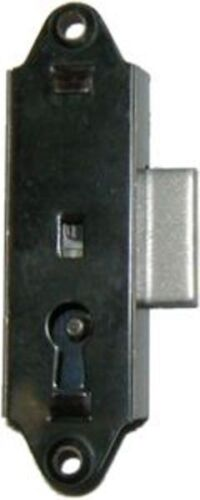 M-1821 FLUSH MNT NARROW LOCK FOR CLOCK CASE, CHINA / CURIO  CABINETS, BREAKFRONT<br/>Locks & Keys - 37915