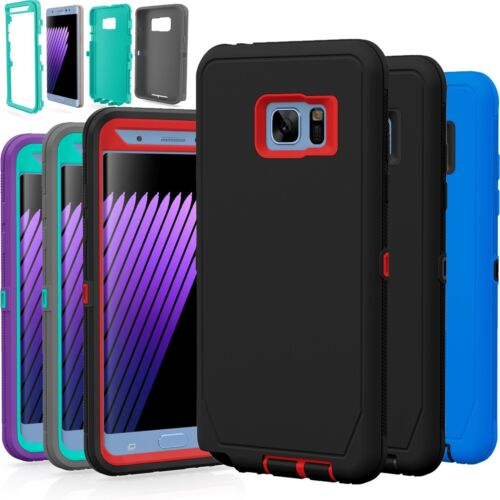 For Samsung Galaxy Note 3 4 5 TPU Shockproof Hybrid Hard Rugged Cover Case
