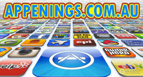 APPENINGS.COM.AU DOMAIN NAME ONLINE APP STORE APP SHOP