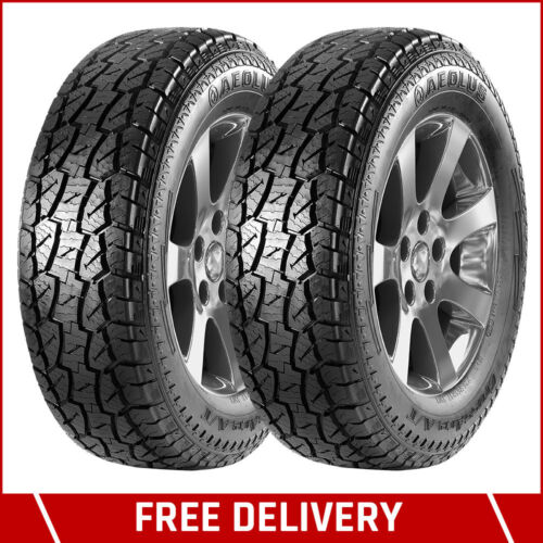 AEOLUS-CrossAce AS01 - 215/75 R15-100T Tubeless Car Tyre (Set of 2) <br/> For Mahindra Tata and similar cars