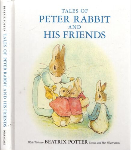 BEATRIX POTTER Tales Of PETER RABBIT And His Friends -13 Illustrated Stories