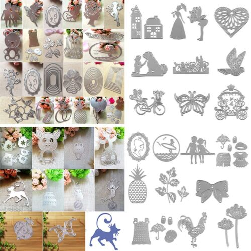 HOT! Metal Cutting Dies Stencil For DIY Scrapbooking Embossing Paper Card Decor