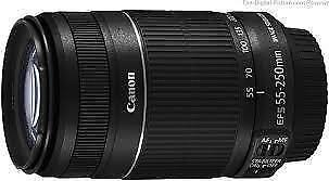 CANON EF-S55-250mm f/4-5.6 IS II Lens FOR CANON EOS 550D,600D,700D,750D,70D !!. <br/> SPECIAL DEAL OFFER ! SMP 3 ! BRAND NEW !