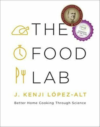 NEW The Food Lab By J. Kenji Lopez-Alt Hardcover Free Shipping