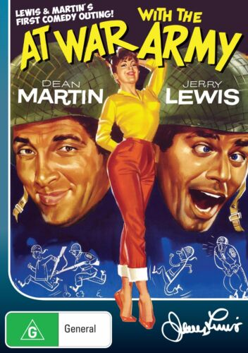 At War With The Army  ( DVD ) *Dean Martin ,Jerry Lewis * BRAND NEW REGION 4