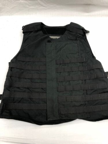 Point Blank Tactical Vest Black MOLLE LE Police SWAT (No Armor Included) XLOther Current Field Gear - 36071