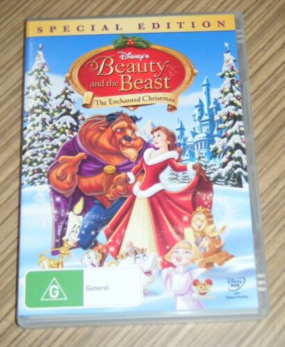 Pre Owned DVD - Beauty and the Beast: The Enchanted Christmas [A6]