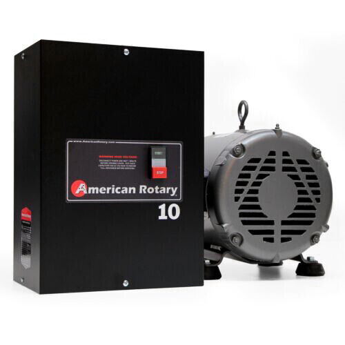 American Rotary Phase Converter AR10 - 10HP 1 to 3 Three PH Heavy Duty HD CNC  <br/> USA MADE - 24/7 SUPPORT - BEST WARRANTY - FREE SHIP