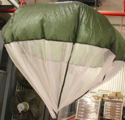 BUY 1 GET 1 FREE Military Issue Pilot Parachutes - 3 Ft. Diam.Part #11-1-6966-1 Parachutes - 70990