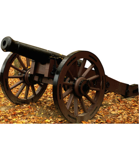 US CIVIL WAR CANNON GUN LIFESIZE CARDBOARD STANDUP STANDEE CUTOUT POSTER FIGUREOther Civil War-Related Items - 158427