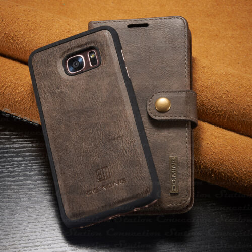 For Samsung Galaxy Note 9/S9+ Plus Leather Removable Wallet Magnetic Case Cover <br/> &radic;100% CASUS GUARANTEE&radic;USPS FAST SHIPPING WITH TRACKING