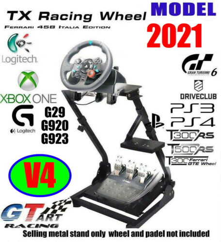 Genuine GT ART Racing Simulator Steering Wheel Stand for G27 G29 PS4 G920 T300RS