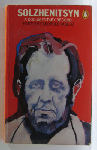 #JJ44,, Leopold Labedz SOLZHENITSYN A DOCUMENTRY RECORD, SC GC