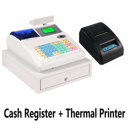 All-In-One M-3100 Electronic Cash Register + Barcode Scanner + Thermal Printer