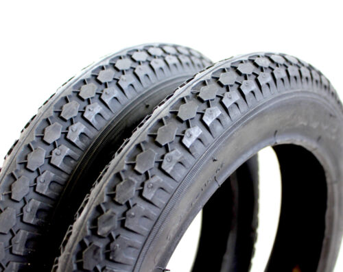 """2 x 12-1/2"""" x 2-1/4"""" Inch Knobby Stroller Scooter Jogger Bike Tyres SYD"""