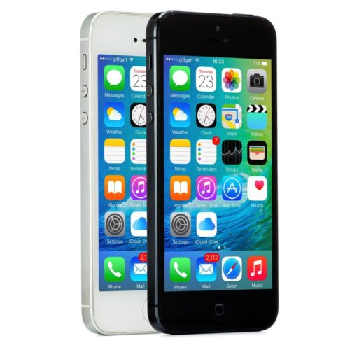 Apple iPhone 5 Smartphone (Choose: AT&amp;T Sprint Unlocked Verizon or T-Mobile) <br/> 30-Day Warranty - Free Charger &amp; Cable - Easy Returns!