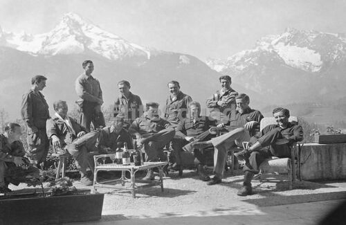 WW2 Photo Dick Winters Easy Company Band of Brothers 506th PIR Airborne 774