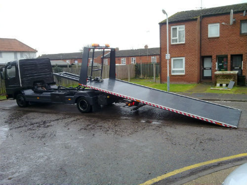 Mercedes-Benz Atego tilt and slide recovery body with spec lift  <br/> we can build recovery body for any mak and model