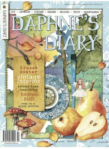 Daphne's Diary Magazine Issue 4 2018 - 50th Issue - NEW