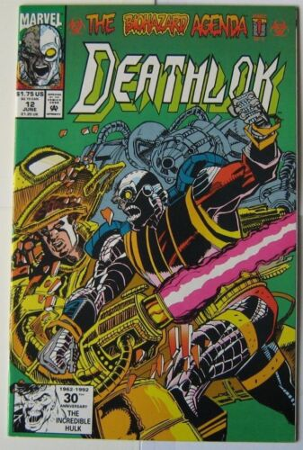 1992 Deathlok #12 Excellent Condition (MARVEL)