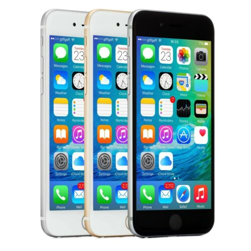 Apple iPhone 6 Smartphone 16GB 32GB 64GB 128GB Factory Unlocked 4G LTE WiFi iOS <br/> 30-Day Warranty - Free Charger & Cable - Easy Returns!