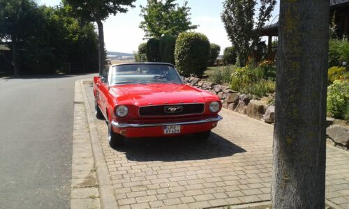 1966 Ford Mustang mit Tüv