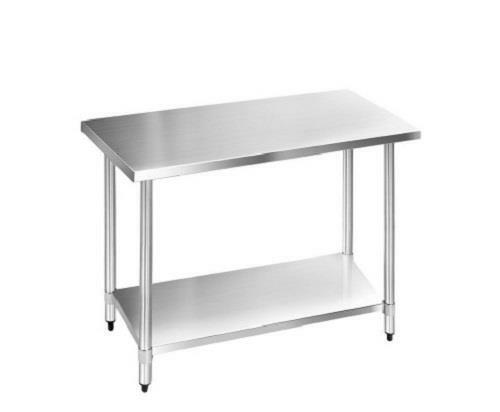 Commercial 304 Stainless Steel Restaurant Kitchen Food Prep Work Bench Table