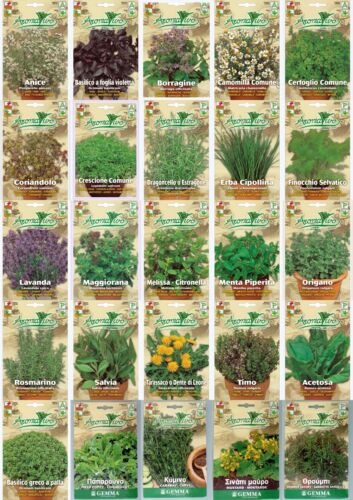 Herb Seeds 32 VARIETIES TO CHOOSE FROM (Everything you need is here) Top Quality <br/> all seeds are from mediterranean Land not from China