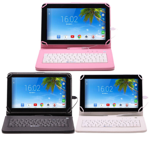 IRULU 9in Tablet PC 8GB Android 4.4 Quad Core Bluetooth WIFI Bundled Keyboard
