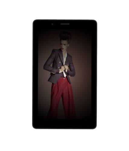 MICROMAX CANVAS TAB P70221 7&quot; TABLET (3G+WIFI CALLING/ 16GB/ DUAL SIM / BLACK <br/> LOWEST PRICE + 1 YR ALL INDIA WARRANTY