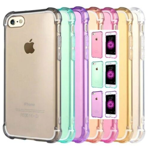 Shockproof Tough iPhone 5 SE 6S 8 / 7 Plus X Soft Gel Clear Case Cover for Apple <br/> BUY 2 or MORE, 15% OFF! +FREE CABLE PROTECTR, FAST POST