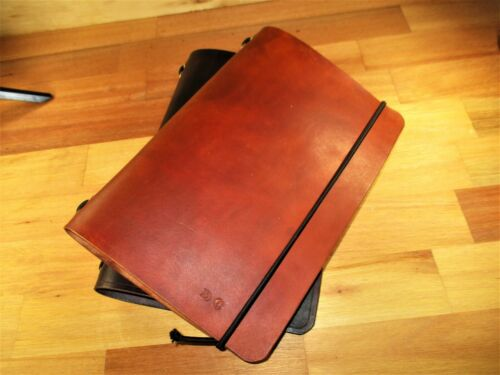 Traveler's Notebook A5 Custom Leather Journal Diary , book cover.