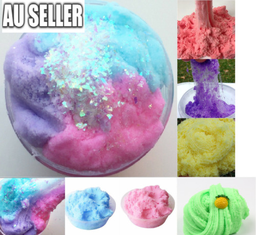 Fairy Floss Cloud Slime Reduced Pressure Mud Stress Relief Kids Clay Toy 6 Color