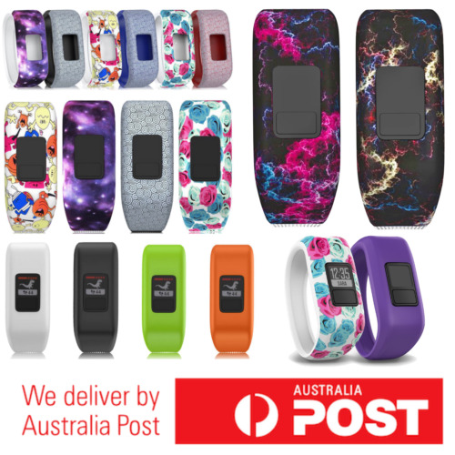 Replacement Band for GARMIN VIVOFIT 3 JR 1 JUNIOR 2 3 Fitness Wristband Tracker <br/> NEW DESIGNS ADDED - SYDNEY STOCK