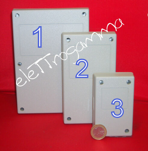 142,8 x 82,5 x 38 mm contenitore mobile ABS  x elettronica  rif n. 2